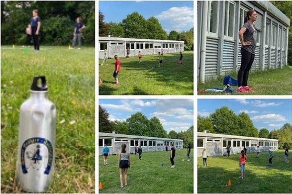 Besonderes in der aktuellen Zeit: Outdoor-Training von Pänz & Jugend