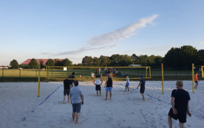 Volleyball- statt Tanztraining