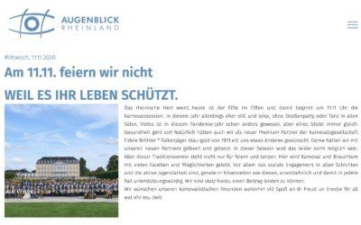 Premium Partner MVZ Augenblick Rheinland berichtet über Fidele